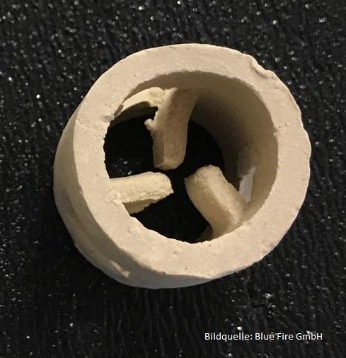 Keramischer Pall-Ring Katalysator Ø25x25x3